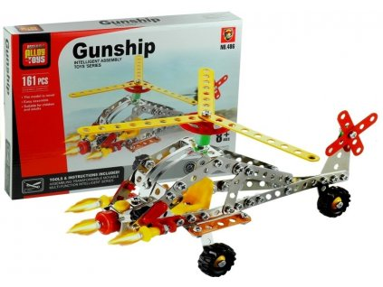 3102 2 stavebnice bojovy vrtulnik