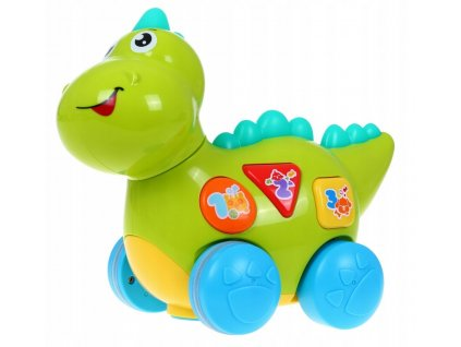 Multifunkční svítící dinosaurus Baby dino