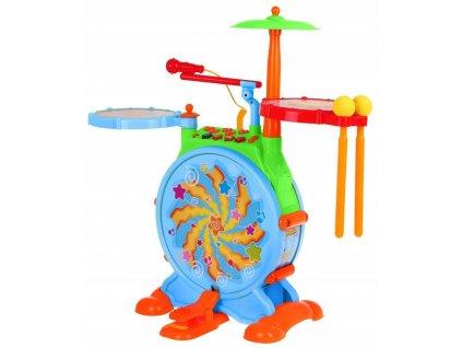 Hudební bubínky pro nejmenší Huile Toys
