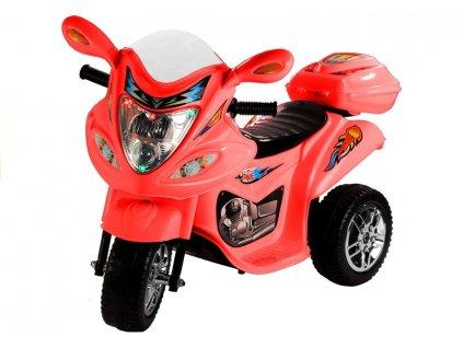 Dětská elektrická motorka BJX-88 červená