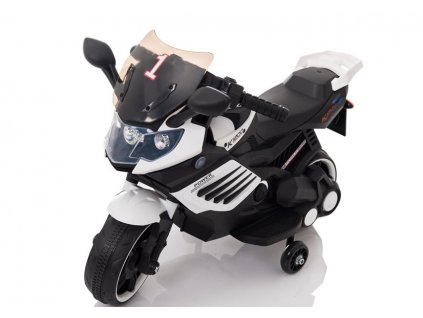 Dětská elektrická motorka LQ158 bílá