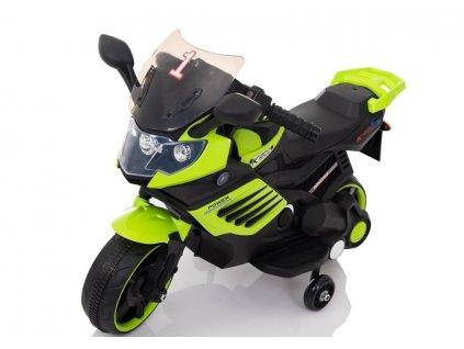 Dětská elektrická motorka LQ158 zelená