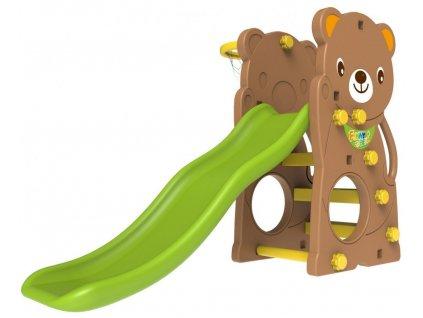 2655 detska skluzavka 2v1 medved