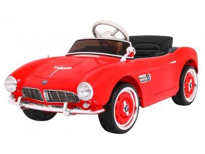 Elektrické autíčko BMW 507 Retro červené1