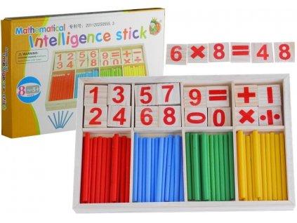 Dřevěná vzdělávací sada pro výuku matematiky 6
