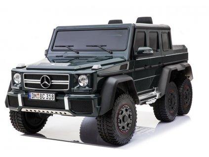 Elektrické autíčko Mercedes G63 4x4 černé2