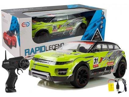 Auto na dálkové ovládání Rally2