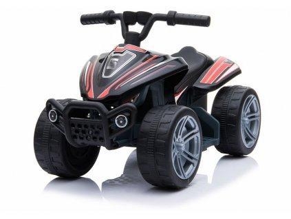 mamido elektrická motokára little monster černá (6)
