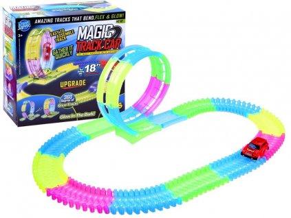 svítící autodráha magic tracks (4)