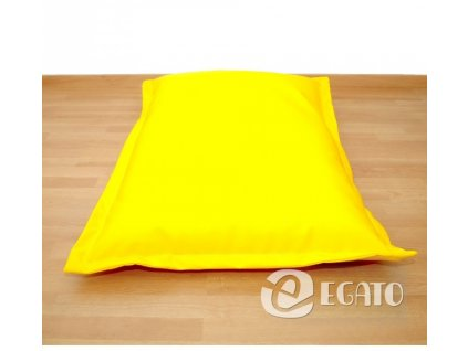 sedací polštář žlutý