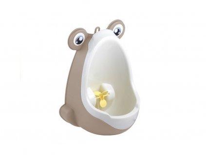 Dětský pisoár žába béžový