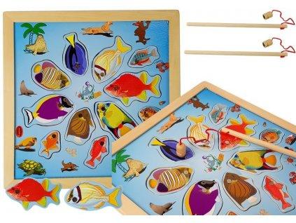 dřevěná hra chytání rybiček (1)