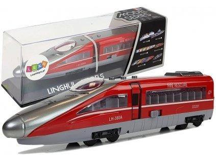 vlak se svítícími a zvukovými efekty (1)