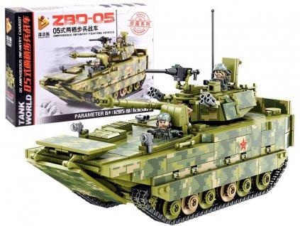 stavebnice vojenský tank (1)