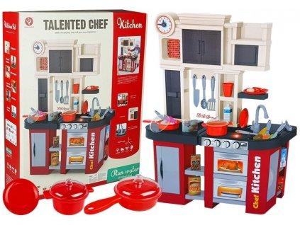 dětská kuchyňka červená (1)