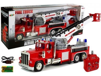 hasičské auto na dálkové ovládání (6)