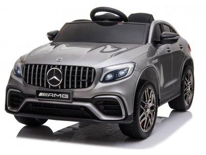 Dětské elektrické autíčko Mercedes Benz QLS 4x4 lakované stříbrné