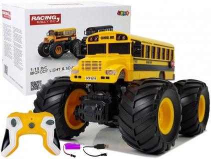 Autobus na dálkové ovládání žlutý 7