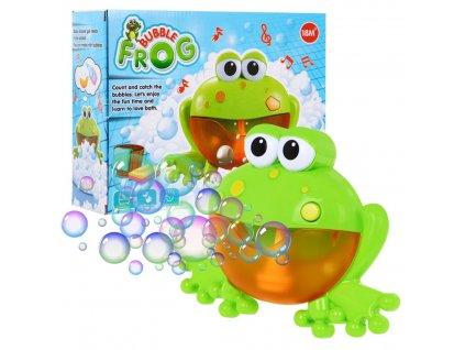 Hračka do vany na tvoření bublin žába