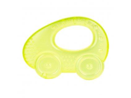 Chladící kousátko autíčko zelené