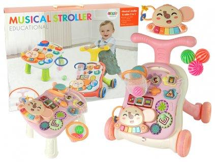 Dětské interaktivní chodítko a stoleček (1)