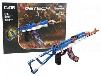 Stavebnice útočná puška AK 47, 498 kusů (1)