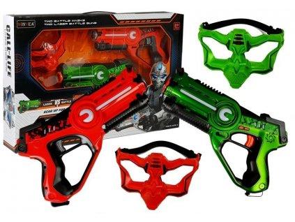 Dětské laserové pistole s maskami2