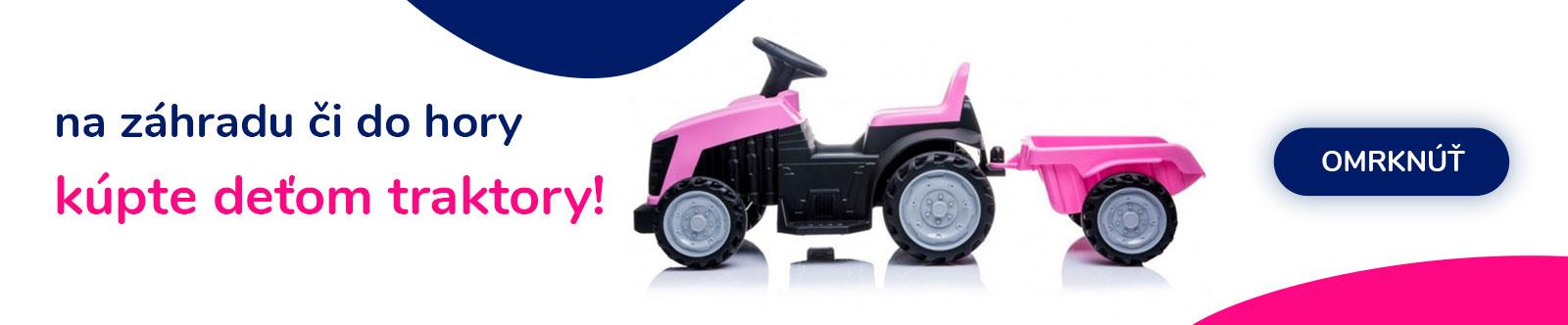 Traktory pre deti