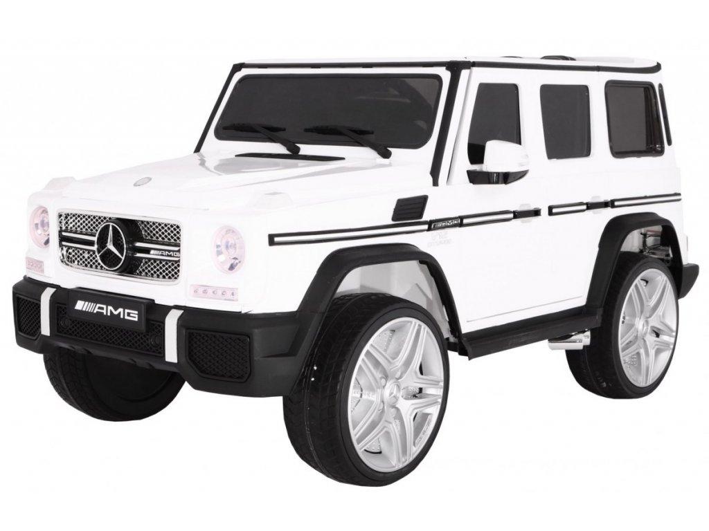 dětské elektrické autíčko G Wagon bílé (5)