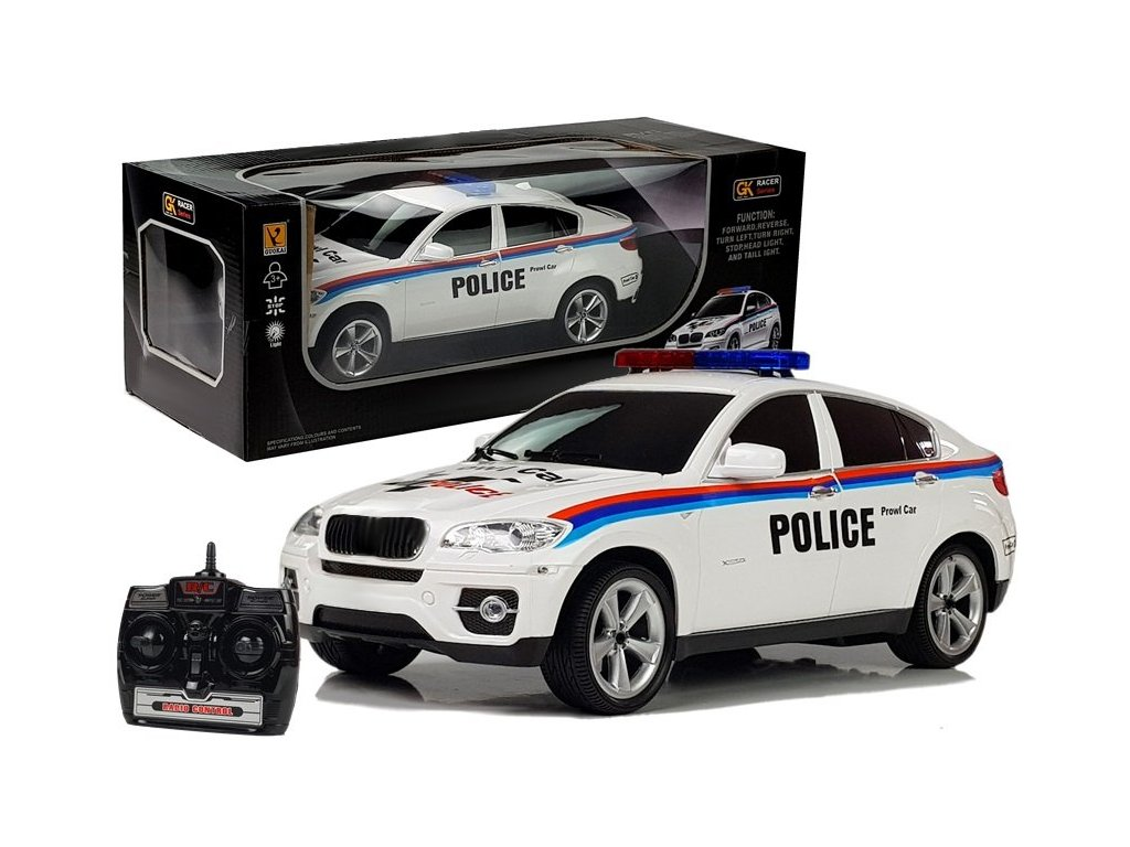 Auto na dálkové ovládání Policie R:C 1