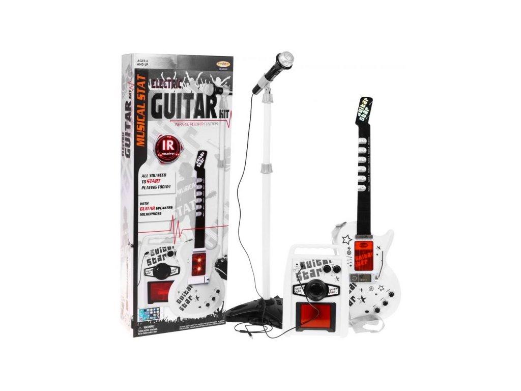 Gitara Elektryczna Wzmacniacz Biala [38344] 568