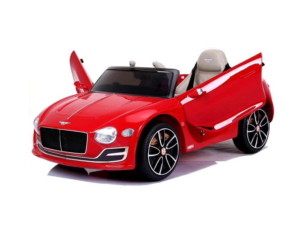 pol pl Auto na Akumulator Bentley Czerwony Lakier 4353 1