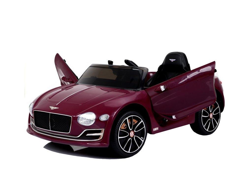 pol pl Auto na Akumulator Bentley Jasny Czerwony Lakier 4351 4