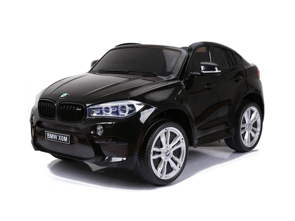 Elektrické autíčko BMW X6M dvoumístné černé