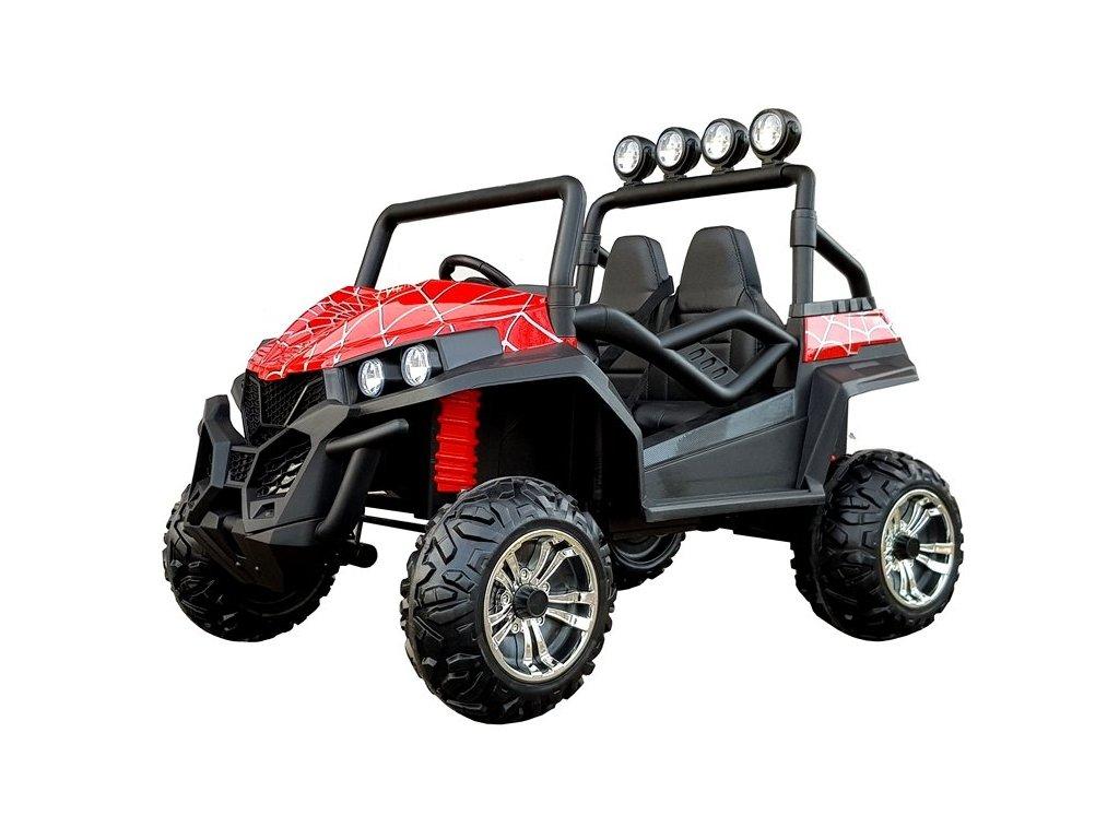 pol pl Auto na Akumulator S2588 Czerwony Lakier Spider 4608 2