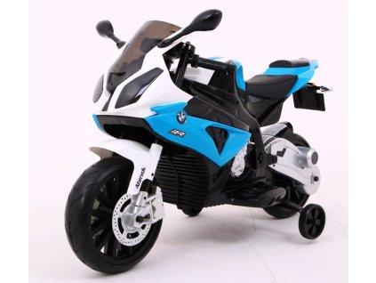 2403 detska elektricka motorka bmw modra