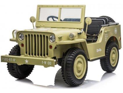 dětské elektrické vojenské autíčko (1)