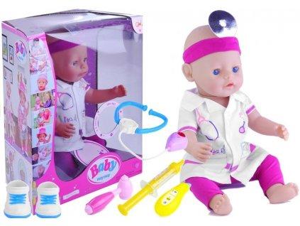 Velká panenka doktorka s příslušenstvím