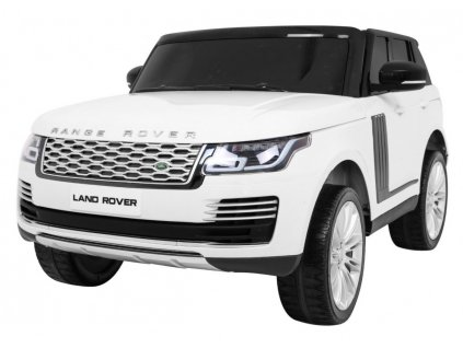 Dětské elektrické autíčko Range Rover HSE bílé