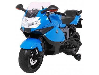 Dětská elektrická motorka BMW K1300S modrá