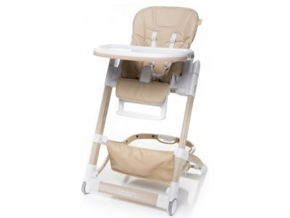 Jídelní židlička 4Baby Icon béžová
