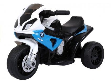 pol pl Motor na akumulator BMW S1000RR Trojkolowy Niebieski 2539 7
