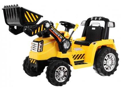 Mamido detsky elektricky traktor zluty (4)