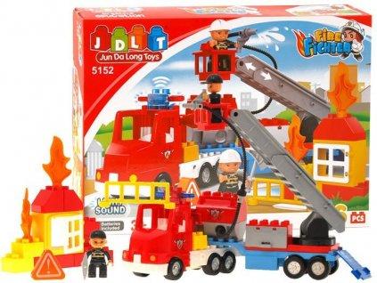 Stavebnice hasiči 36 dílů
