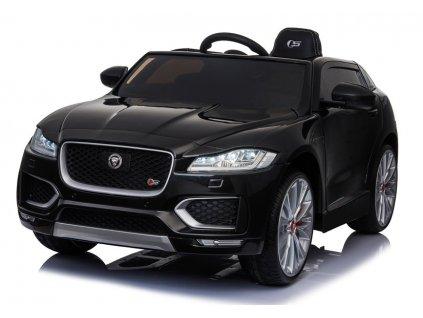 Dětské elektrické autíčko Jaguar F Pace lakované černé 2