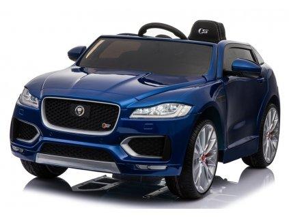 Dětské elektrické autíčko Jaguar F Pace lakované modré 2
