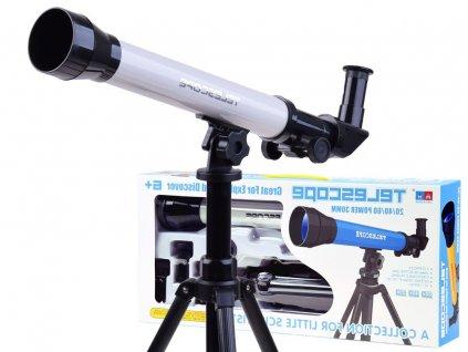 dalekohledBily (1)