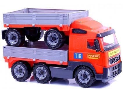 Nákladní auto s vlečkou (1)