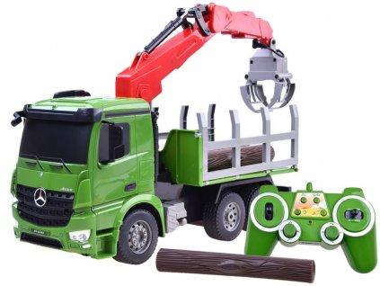 mamido Auto na dálkové ovládání Mercedes zelený