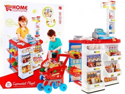 supermarket nakupni kosik cerveny ZDZ 668 05 3